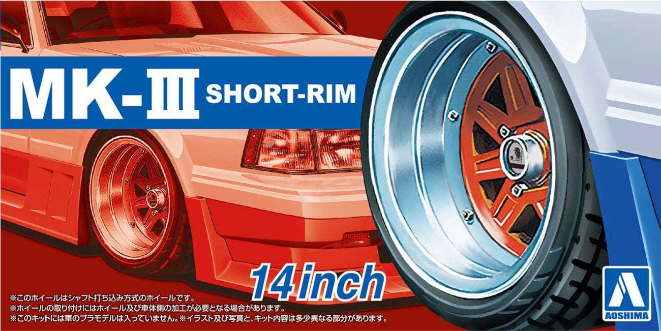 Aoshima 1/24 Scale Tuned Parts 89 Mark III Short Rim 14inch Tire ...