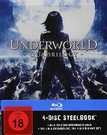 a2919dc0a Underworld 1-4 - Steelbook [Blu-ray]: Amazon.es: Cine y Series TV