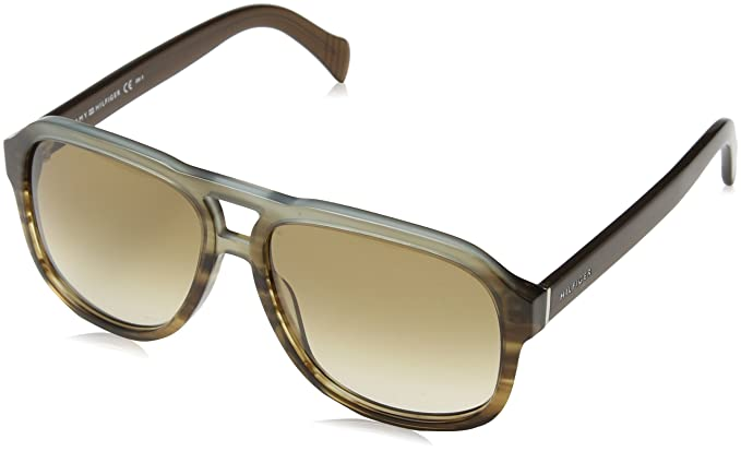 Tommy Hilfiger TH 1468/S HA, Gafas de Sol Unisex-Adulto, Havan