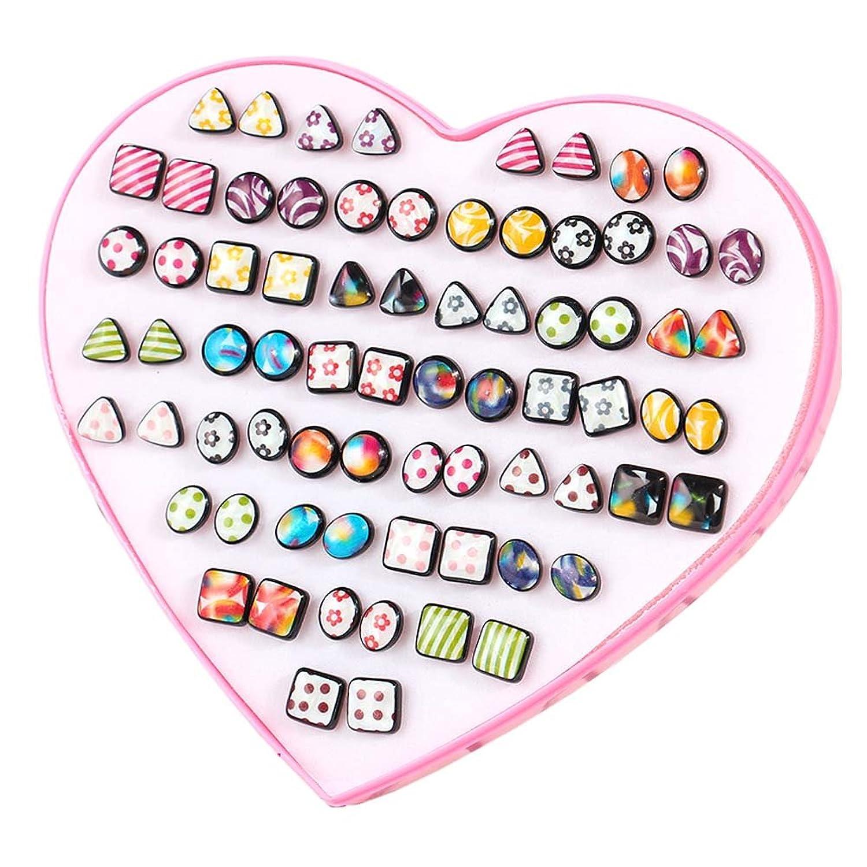 36 paires de boucles d'oreilles hypoallergénique ensemble parti faveur pour les femmes filles enfants cadeau de Noël, # 16