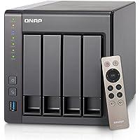 QNAP TS-451+ (8GB RAM version) 4-Bay Next Gen Personal Cloud NAS, Intel 2.0GHz Quad-Core CPU with Media Transcoding