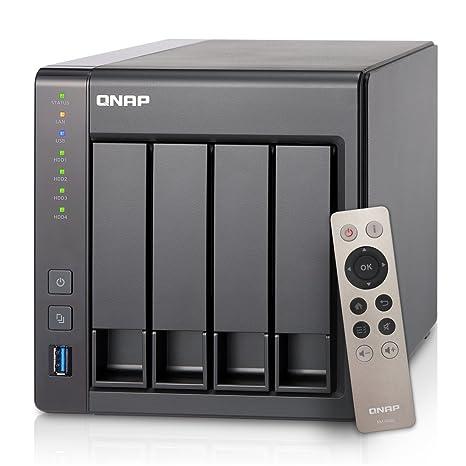 QNAP TS-451+-2G-US 4-Bay Next Gen Personal Cloud NAS, Intel 2 0GHz  Quad-Core CPU with Media Transcoding