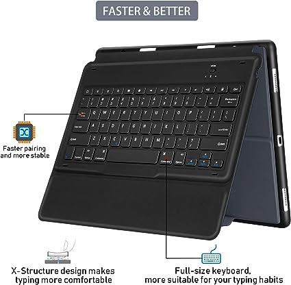Sounwill Hülle Mit Tastatur Für Ipad Pro 32 8 Cm Computer Zubehör