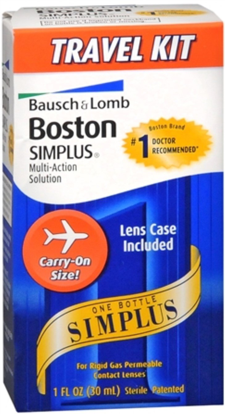 Bausch & Lomb Boston Simplus Multi-Action Solution Travel Kit 1 Each (Pack of 6)