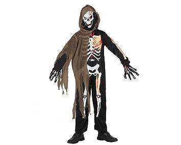 Atosa-5264 Disfraz Esqueleto 3-4, color marrón, 3 a 4 años (5264 ...