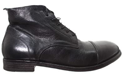 en soldes 34faa 1c443 MOMA Chaussures Hommes Ankle Boots 52805-2A Cusna Nero Cuir ...
