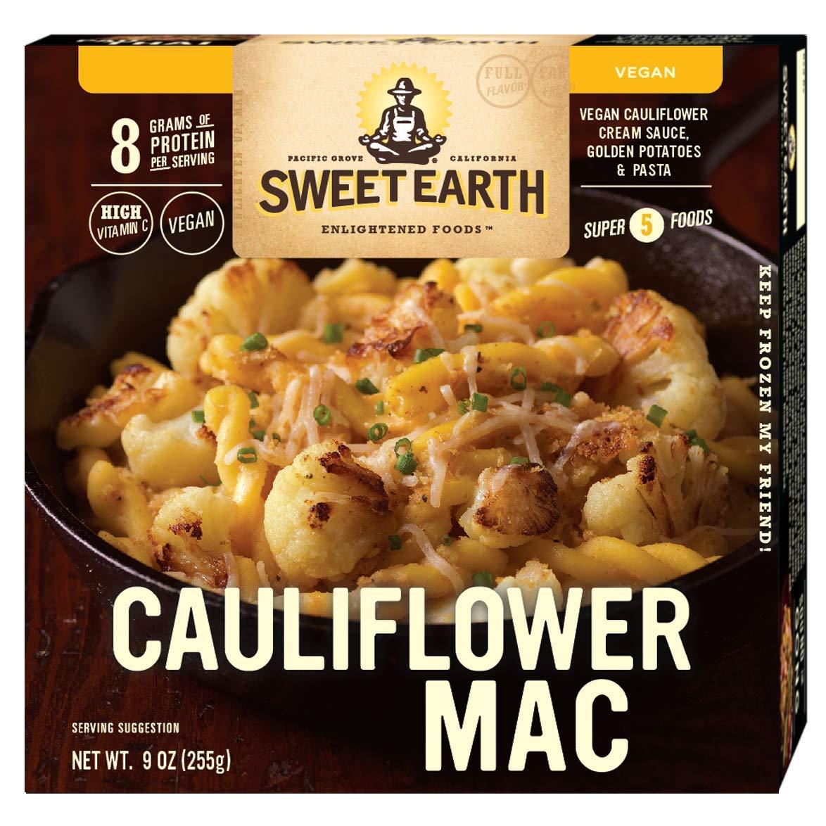 Sweet Earth Vegan Cauliflower Macaroni Bowl 9 ounce (Pack of 8)