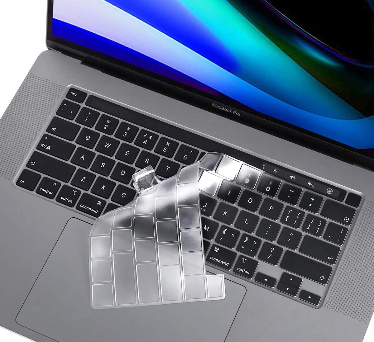 Ultra Thin Clear Keyboard Cover for 2020 Newest MacBook Pro 13 Inch Model A2338 A2289 A2251 & 2020 2019 MacBook Pro 16 inch Model A2141 with Touch Bar & Touch ID Keyboard Skin Protector Cover