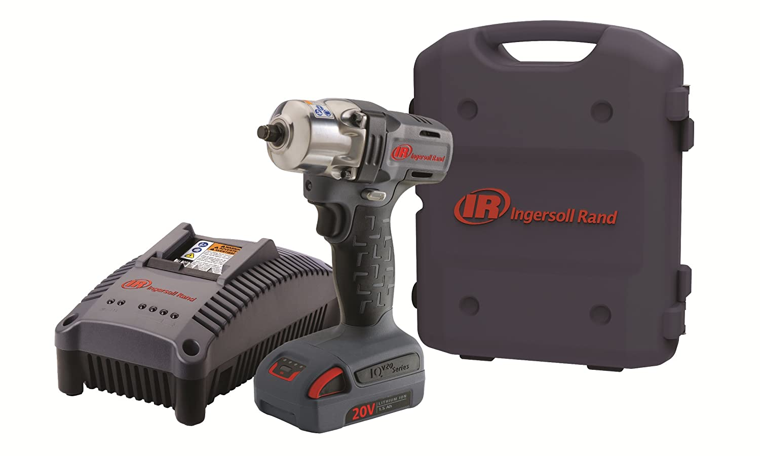 Ingersoll Rand W5130-K1 3 8-Inch Mid-Torque Impactool Kit with Charger, Li-Ion Battery and Case