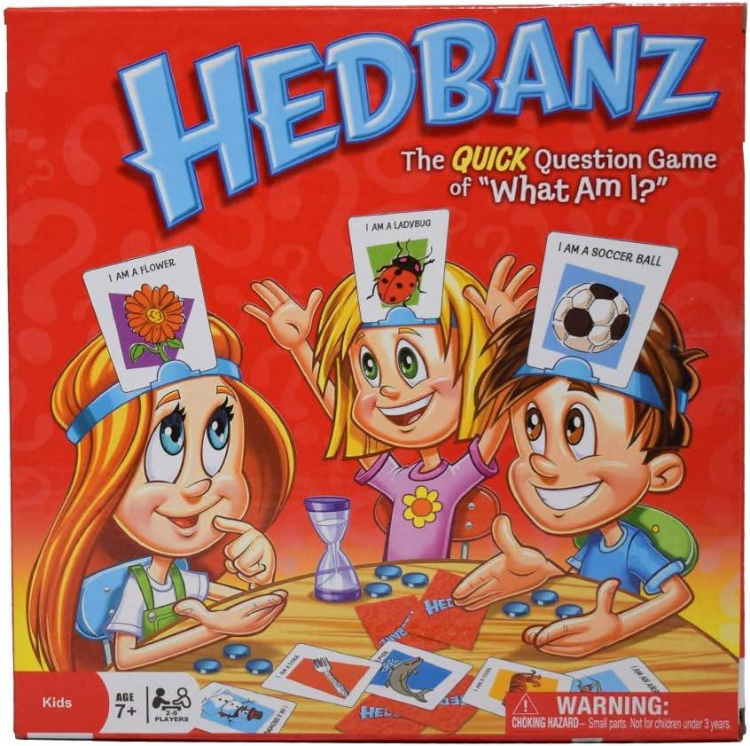 Games Spin Master - Hedbanz, Juego de Preguntas, versión en inglés: Amazon.es: Juguetes y juegos