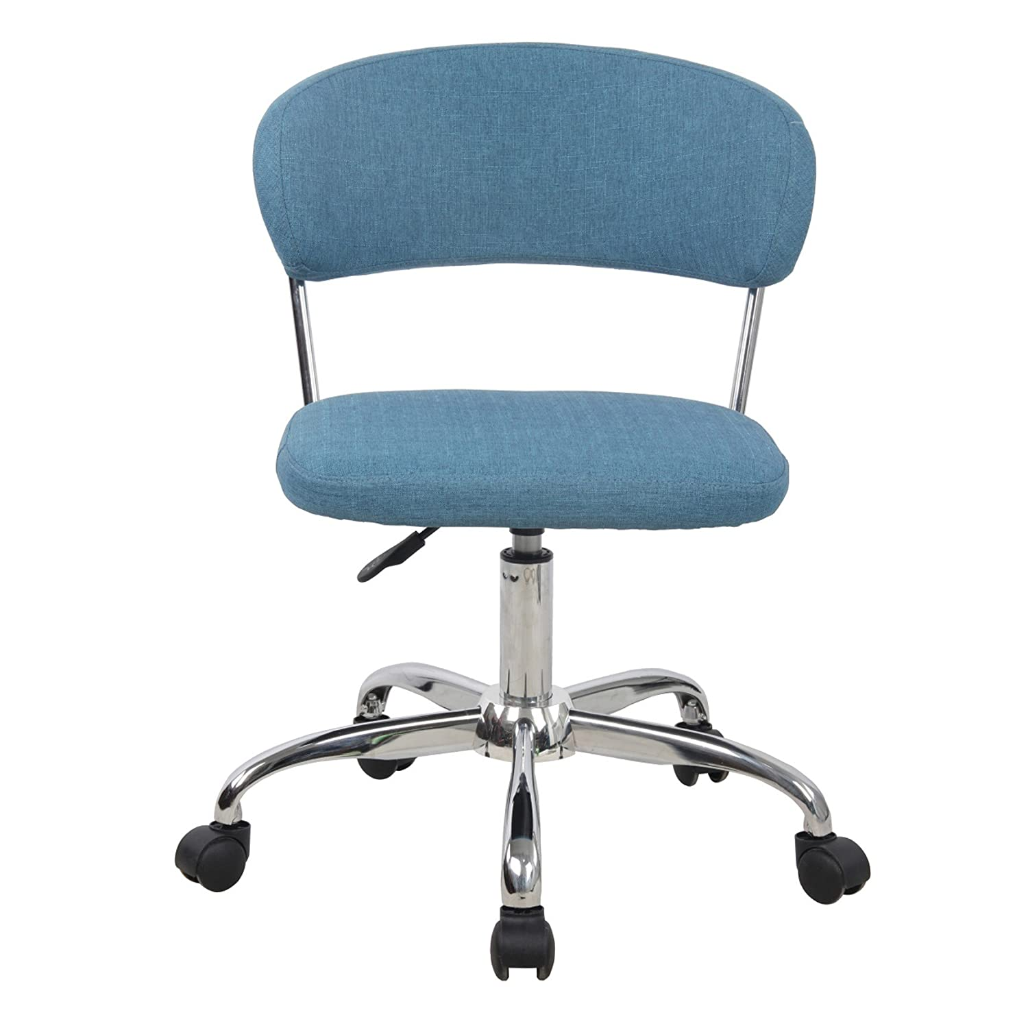 Amazon Porthos Home Taylor Adjustable fice Chair Blue