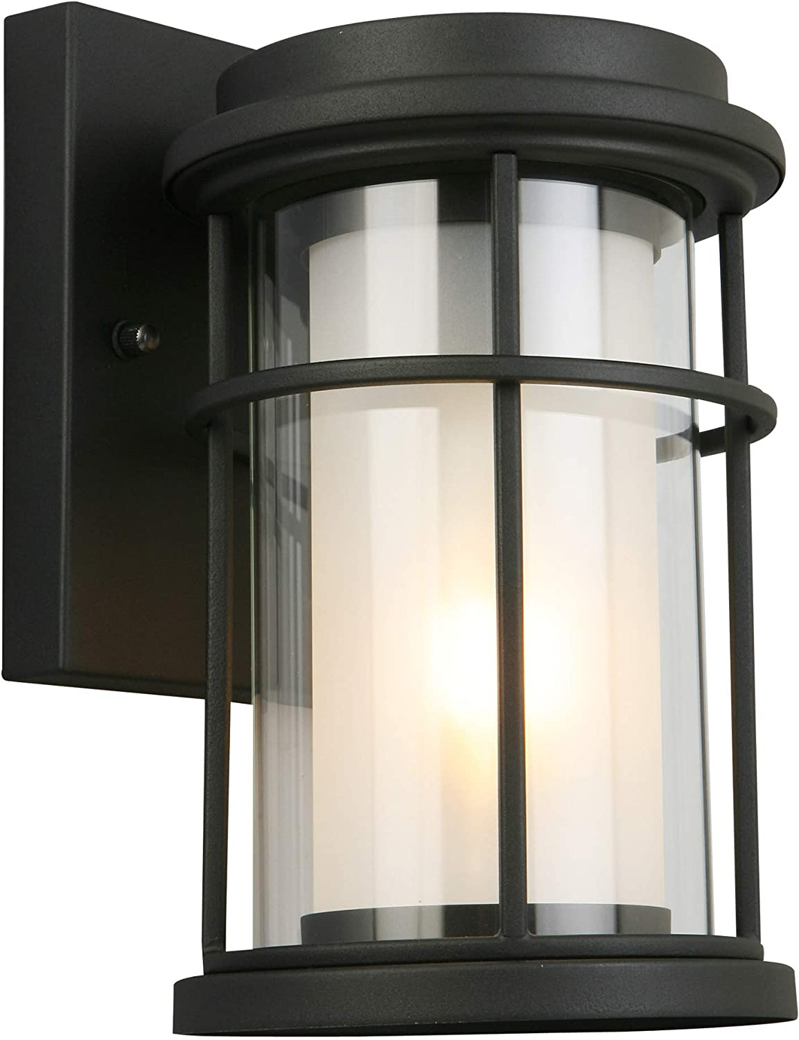 Three Light Outdoor Pendant Matte Black Finish With Clear Seeded Glass Eglo Lighting 202805a Pinedale Porch Patio Lights Kolenik Pendant Lights