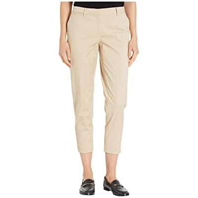 Tommy Hilfiger Women's Cropped Cotton Chino Trousers at Women's Clothing store