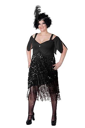 Amazon.com: Sunnywood Women\'s Plus-Size Lava Diva Flapper: Clothing