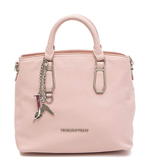 Trussardi Jeans Borsa Donna Carrie ecoleather Smooth Shopping Bag