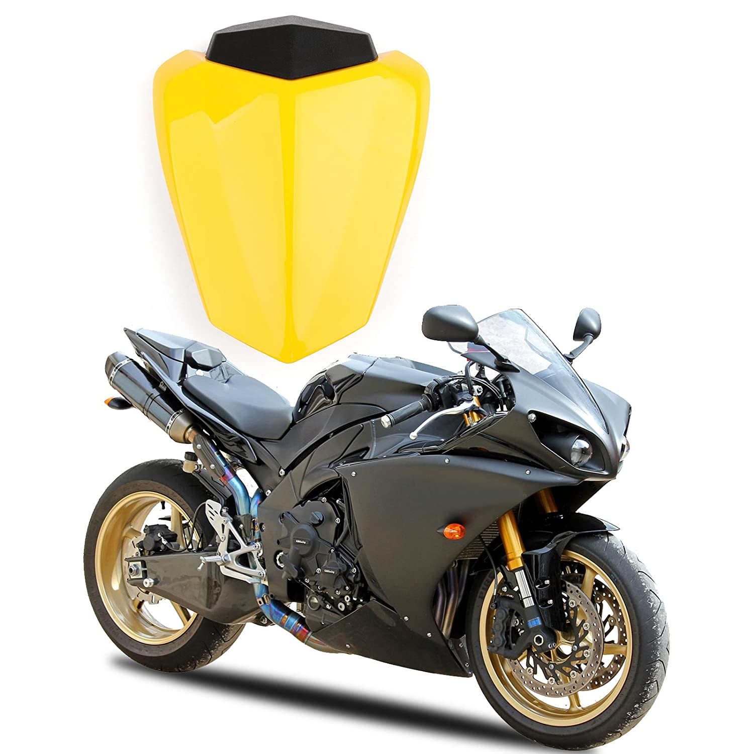 Areyourshop Rear Seat Cover cowl For YZF R1 2009-2014 Fairing Carbon