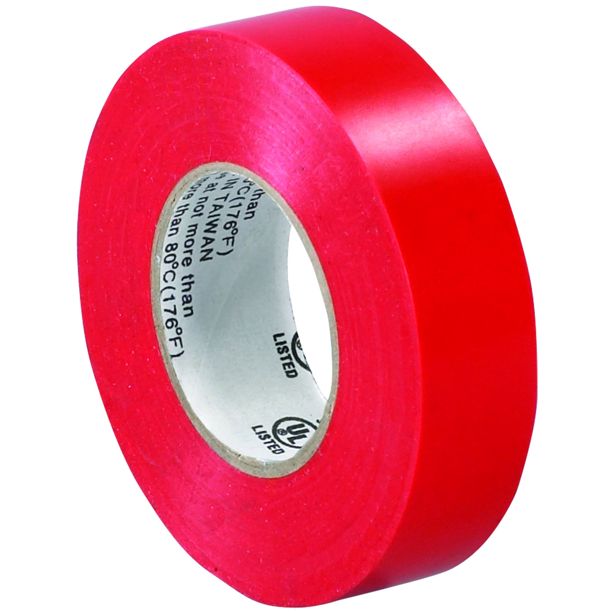 BOX BT96461810PKR Red Electrical Tape, 20 yd. Length, 3/4'' (Pack of 10)
