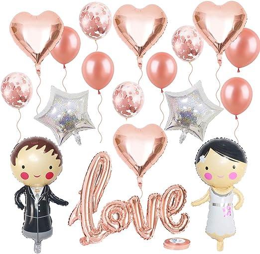 White Star Helium Folie Geburtstag Luftballon Hochzeit Party Dekoration #20354