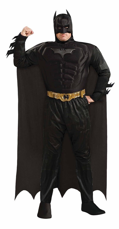 Disfraz de Batman Musculoso TDK Rises talla grande: Amazon ...