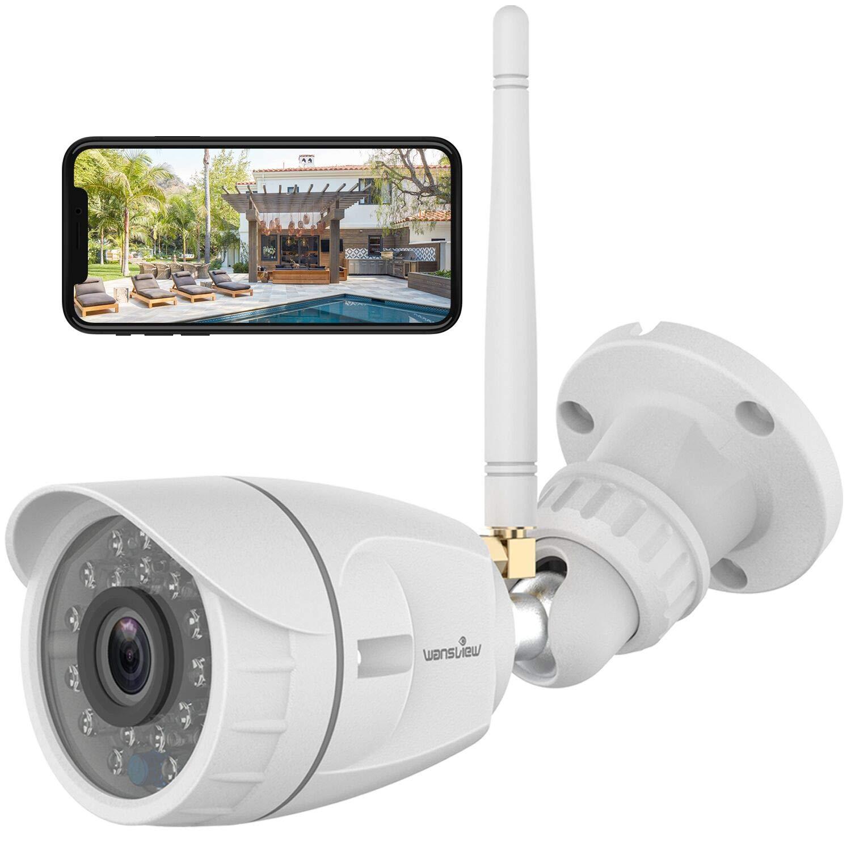 Telecamera Wifi Esterno, Wansview 1080P
