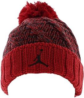 c86adf3cc76288 Amazon.com  Nike Jordan Jumpman Cable Pom Beanie Hat (8 20