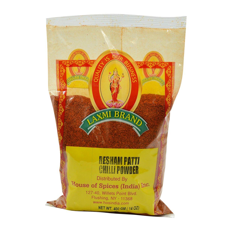 Laxmi, Resham Patti Chilli Powder, 400 Grams(gm)