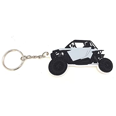 RZR Keychain XP 1000 900 (Grey): Office Products