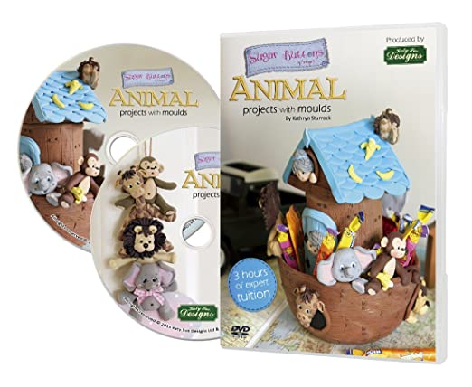 Sugar Buttons DVD para hacer moldes de Animales de Kathryn ...