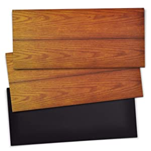 """5.5"""" x 12 """" Extra Magnetic Floor Vent Covers (3-Pack) Stronger Magnet for Floor Air Registers (Woodgrain) for RV, Home HVAC, AC and Furnace Vents (Not for Ceiling Vents)"""