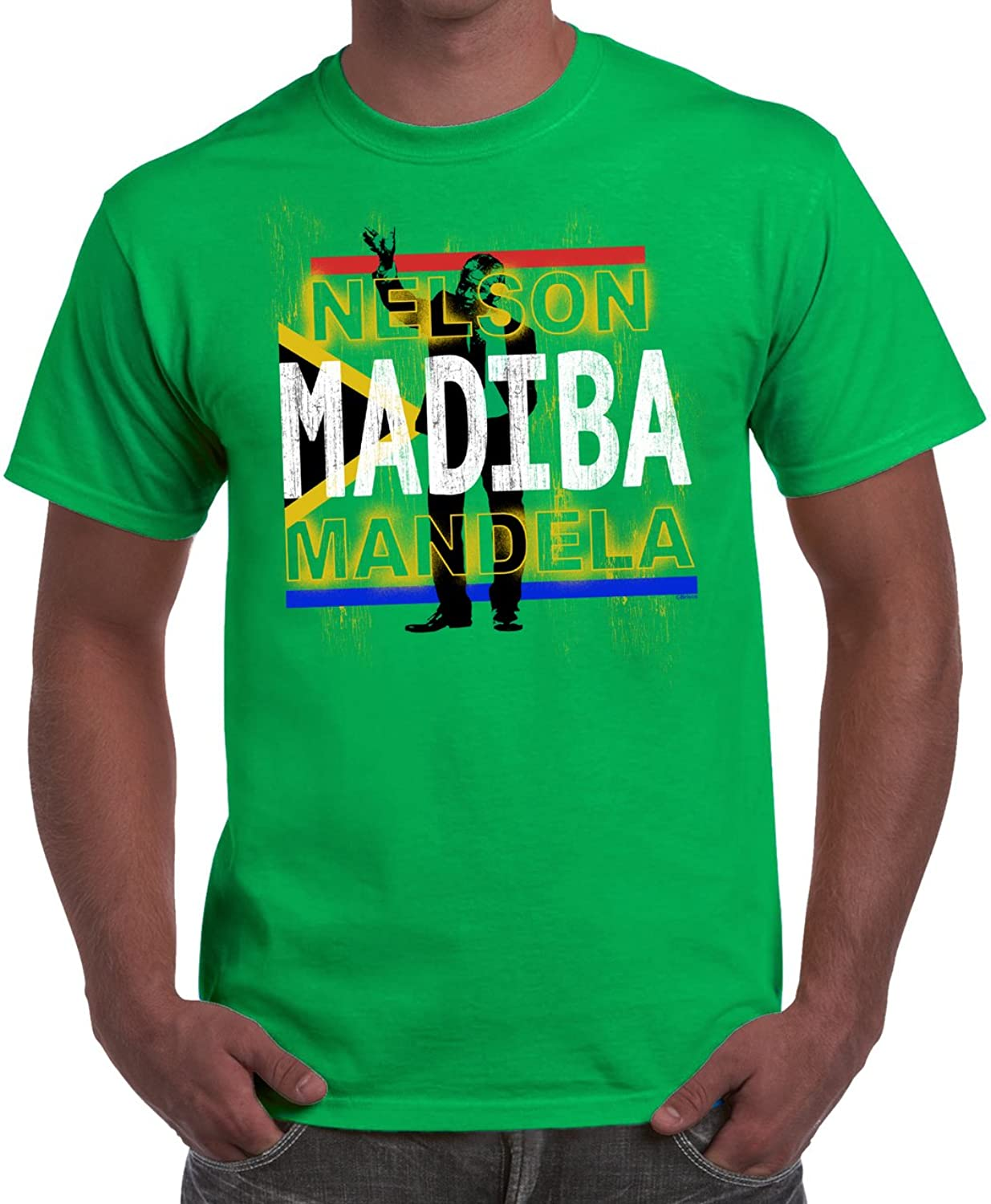 Rest In Peace Nelson Mandela Black History Month BHM Shirt MLK T-Shirt Tee