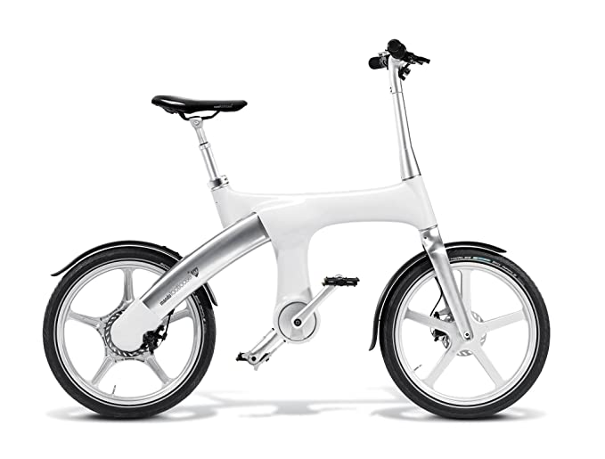 Bicicleta elctrica plegable mando footloose