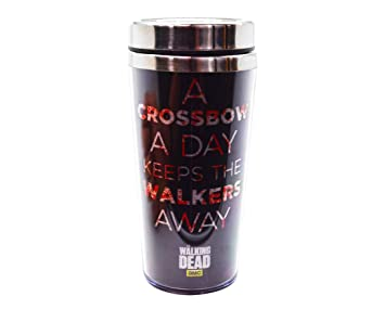 "Taza de viaje | martillo oficial de AMC THE WALKING DEAD: Daryl Dixon """
