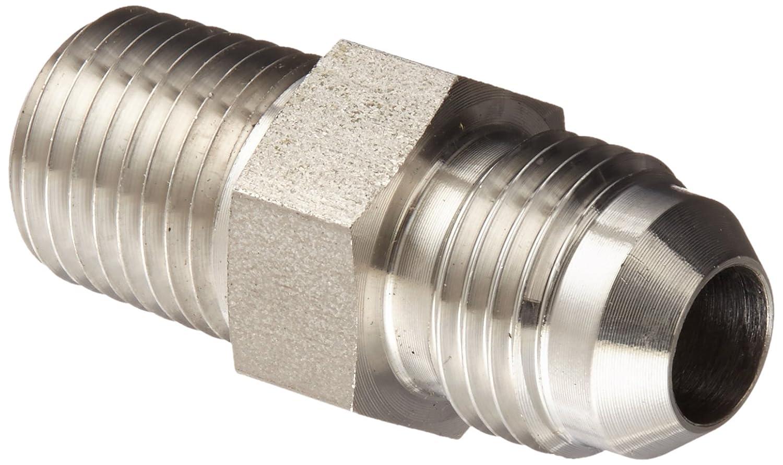 Eaton Weatherhead 41157X4 Carbon Steel SAE 37 Degree Flare-Twin Fitting JIC 1//4 O-Ring Port x 1//4 JIC Male 1//4 O-Ring Port x 1//4 JIC Male Adapter