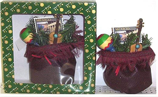 Amazon Com Dillards Mexico Christmas Bag Ornament Home Kitchen