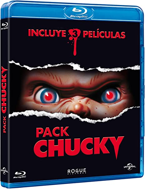 Pack Chucky [Blu-ray]: Amazon.es: Brad Dourif, Alex Vincent, Jenny Agutter, Varios, Brad Dourif, Alex Vincent, Varios: Cine y Series TV