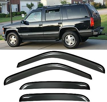 EOS For 15-Up Chevrolet SuburbanTape On Side Window Visors Deflectors Vents