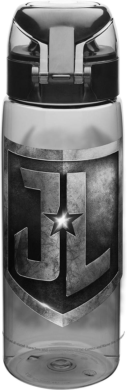 Zak Designs JLMA-K951 DC Comics Justice League Movie Water Bottle with Loop BPA-Free 25 Ounces