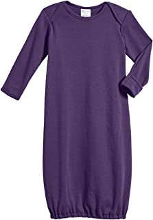 product image for 100% Cotton Baby Sleeping Bag Gown - Purple - 3/6 m