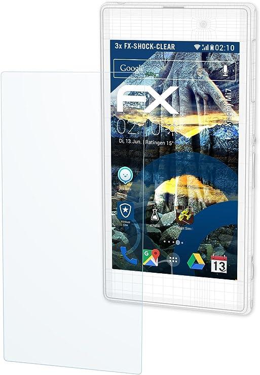 Xiaomi MI7 pantalla – 3 x atFoliX de shock FX-Clear ...
