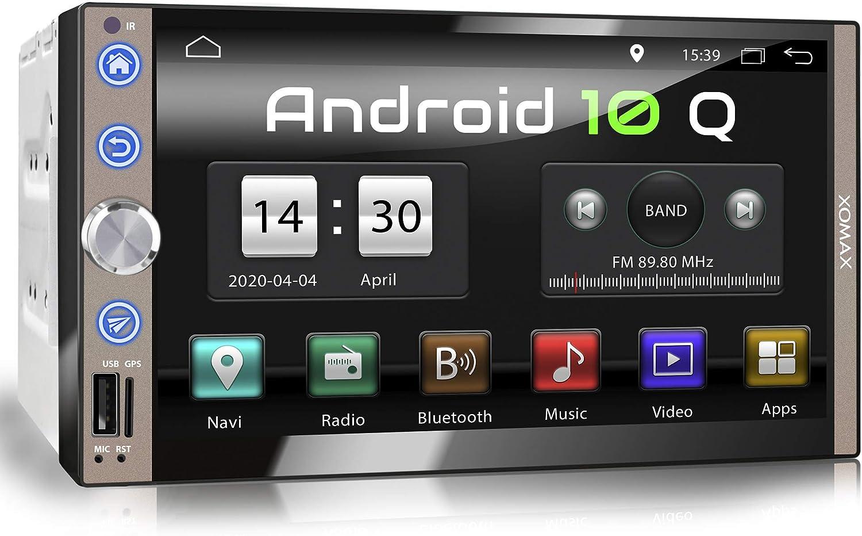 Xomax Xm 2va769 Autoradio Mit Android 10 Quad Core 2gb Ram 32gb Rom Gps Navigation I Support Wifi Wlan 3g 4g Dab Obd2 I Bluetooth 7 Zoll 18cm Touchscreen Usb Sd Aux
