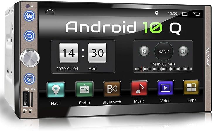 Xomax Xm 2va769 Car Radio With Android 10 Quad Core 2gb Ram 32gb Rom Gps Navigation