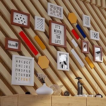 Amazon Weeday Tianta 11 Multi Photo Frames Set Pine Wood