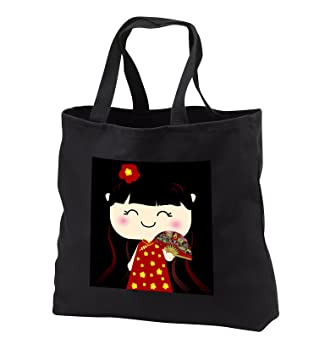 fb082c8e56a5 InspirationzStore Squeables - Cute Kawaii Cartoon Japanese Chinese Girl  Doll in traditional red gold Dress and