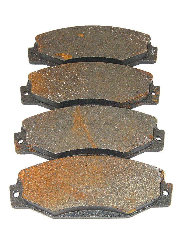 Wearever MKD-393 Silver Front Premium Semi-Metallic Disc Brake Pads