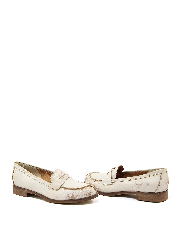 Paola Ferri Mocasines Franko Crema EU 40: Amazon.es: Zapatos y complementos