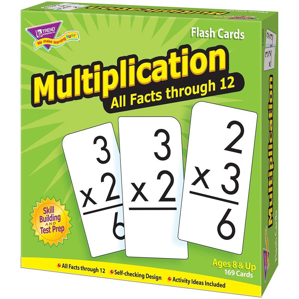 Amazon.com: TREND enterprises, Inc. Multiplication 0-12 All Facts ...