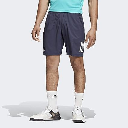 adidas 3-Stripes Club pantalón Corto para Hombre: Amazon.es ...
