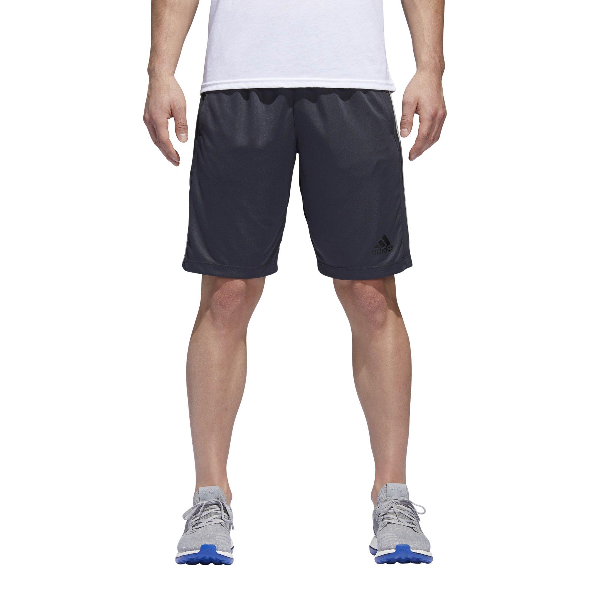 adidas Men's Designed-2-Move 3-Stripe Shorts, Dark