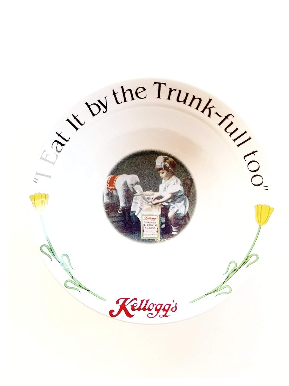Kelloggs 90th Anniversary 4 Piece Collectable Stoneware Bowl Set Kelloggs