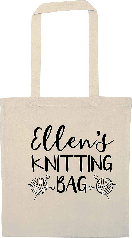 Flox Creative Tote Bag Personalised Knitting Bag